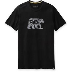 Smartwool Merino Sport 150 Skjorte Bear Camp-grafik Herrer, sort